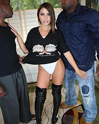 Black Dick And Black Pussy Adriana Chechik's Second Appearance