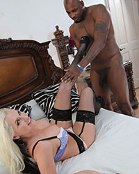 Blacks On Blondes Girls Alena Croft's Second Appearance