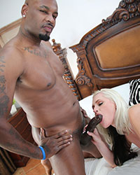 Alena Croft's Second Appearance Interacial Creampie