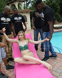 Alexa Grace's Second Appearance Mandingo Pov
