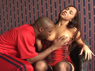 Alexandra in sexy lingerie gets assfucked by a black guy on blacks on blondes blog