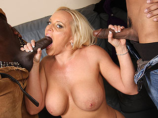 Alexis Golden First Big Black Cock