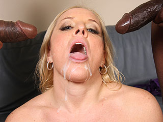 Alexis Golden Blacks On Cougars Cameron