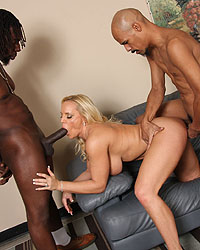 Alexis Golden Brooke Banner Blacks On Blondes