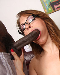 Alice Bell Black Sucking Cock