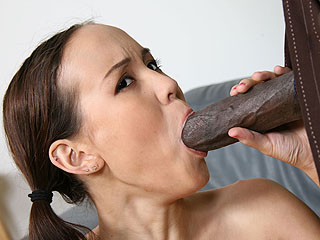 Amai Liu Dogfart Black Cock Interracial