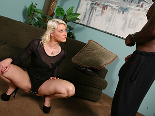 Anikka Albrite Black Cock Training