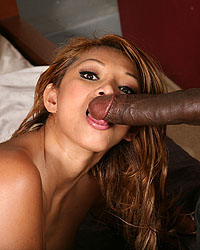 Baylee Lee - Asian whore gets her fill of interracial sex with a huge, black cock.