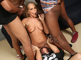 Interracial Vaginal Creampie Britney Young