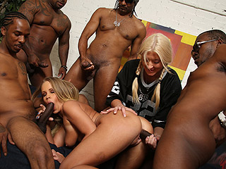 Britney Young Nicole Moore Blacks On Cougars