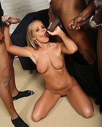 Britney Young's Second Appearance Riley Shy Blacks On Blondes