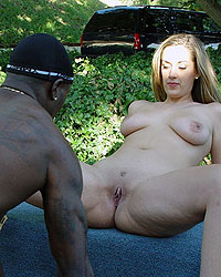 Brooklyn Taking Black Cock