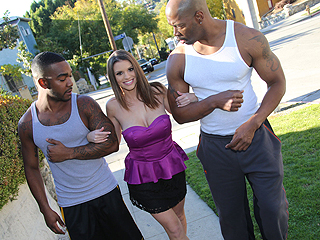 Brooklyn Chase Anal Interracial Gangbang