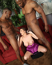Brooklyn Chase Interracial Candy