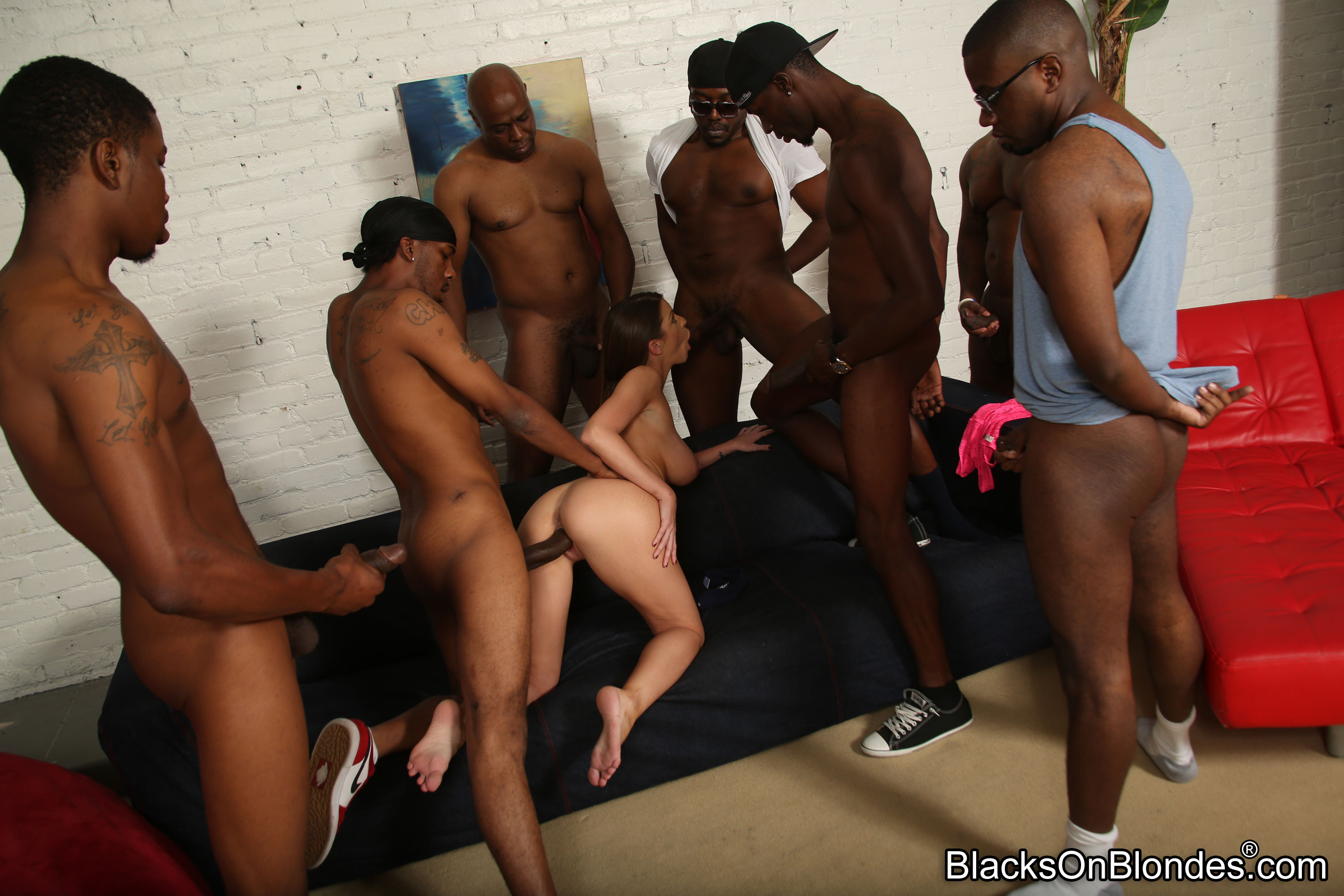 Lick her xxx interracial gangbang trailers comp