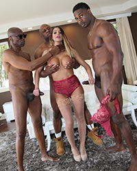 Brooklyn Chase Black Dick In Pussy