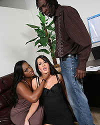 Black Cock Cum Slut Brooklyn Jade