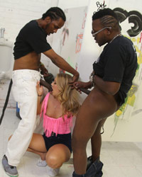 Candice Dare Blacks On Blondes Passes