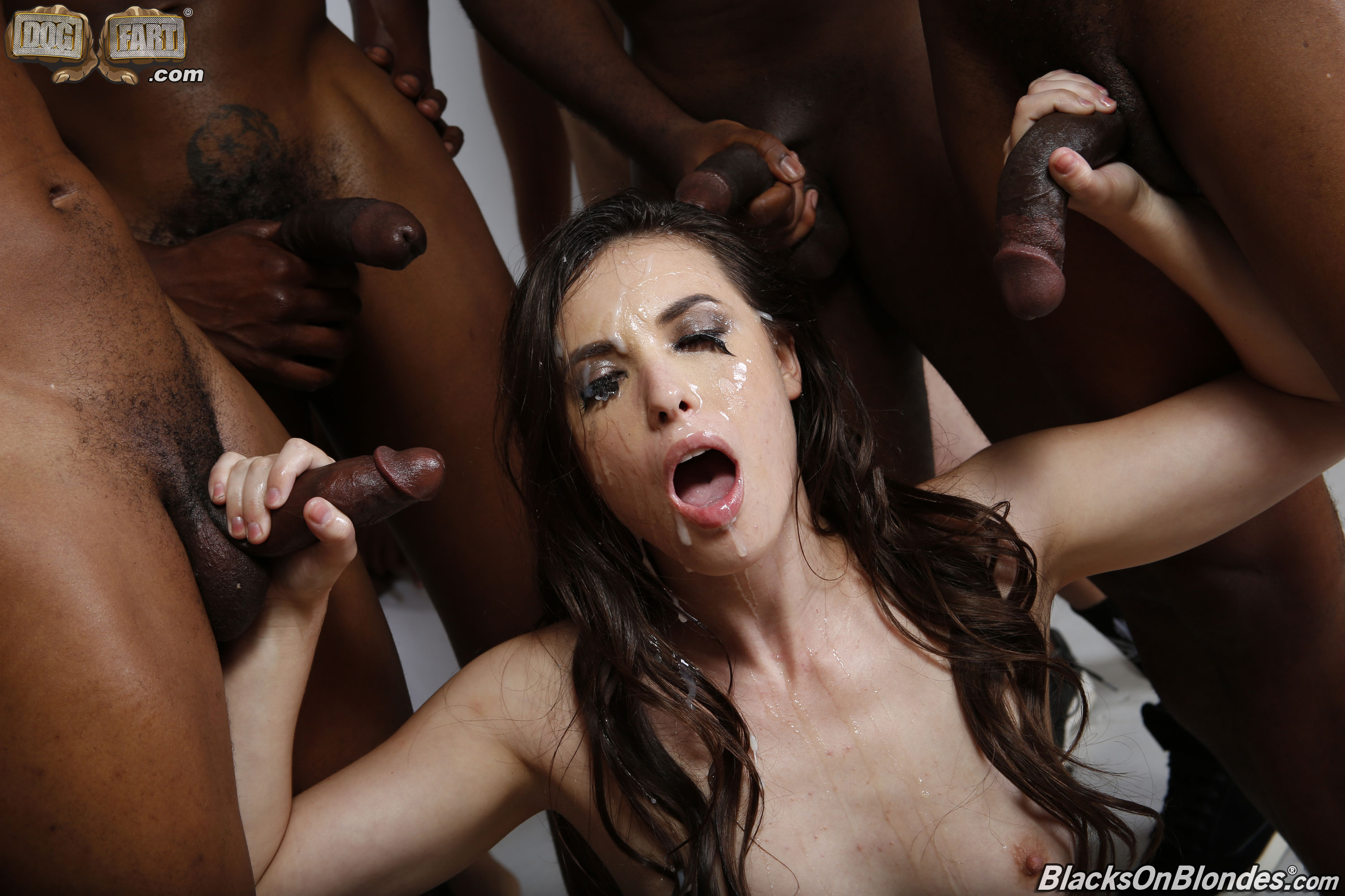 Brutal gangbang dp extreme crying excited