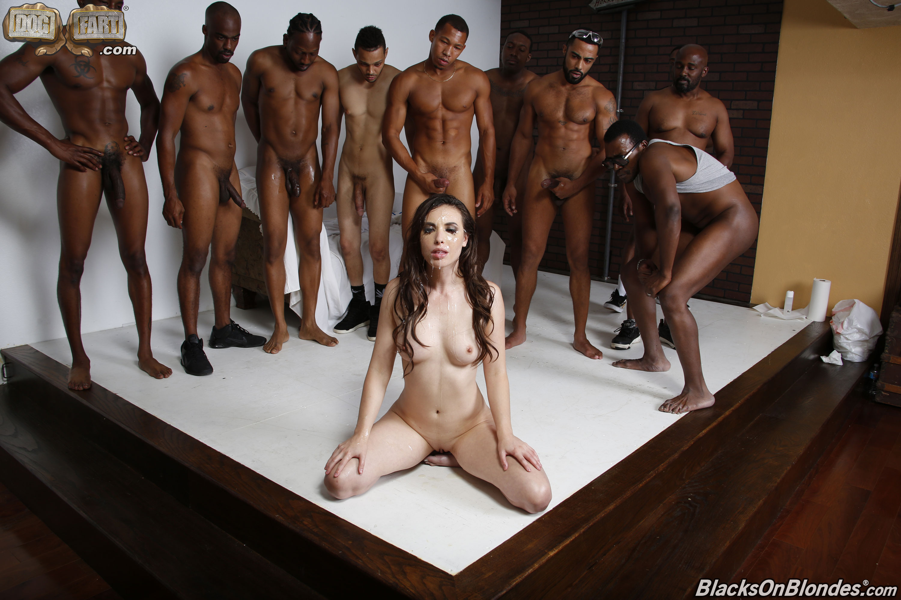Sexy creampie gangbang movie way here legs