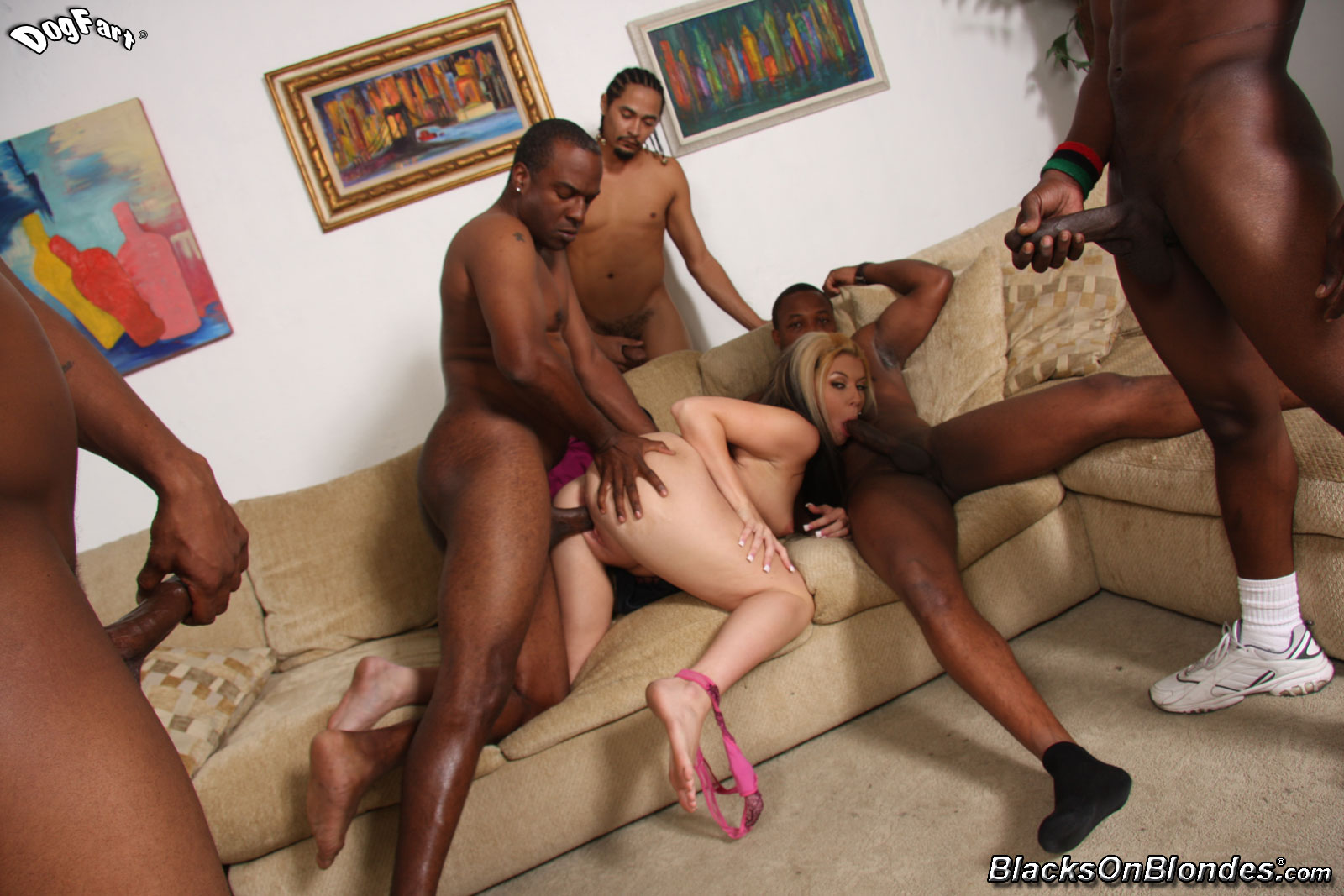 black girls porn party