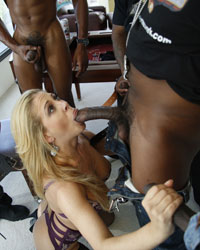 Cherie DeVille Best Interracial Gangbang
