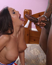 Cheyenne Hunter - Brunette MILF fucks monster black dick