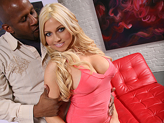 Christie Stevens Interracial Oral Creampie