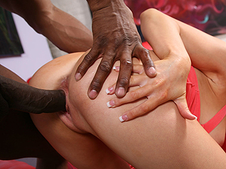 Christie Stevens Black Cock Interracial