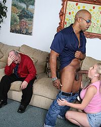 Cindee Her First Big Black Cock