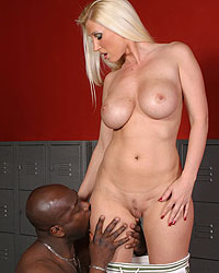 Devon Lee Blacks On Blondes Gang Bang