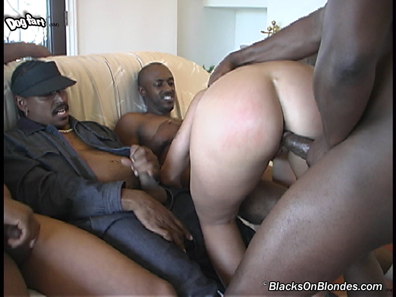 Fiona cheeks in new interracial gangbang by blacks on blondes