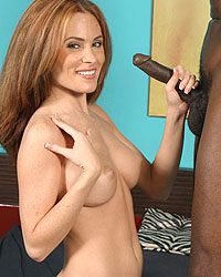 Ginger Lea 18 Inch Black Dick