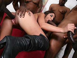 Giselle Leon Black Cock Thumbs