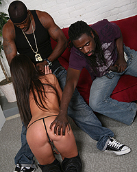 Giselle Leon Interracial Creampies 2