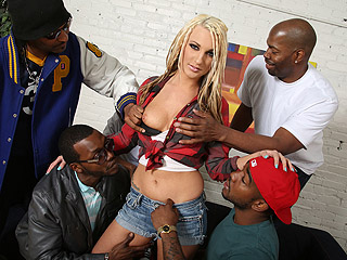 Hailey Holiday Blacks On Blondes Megaupload