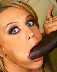Holly Wellin Large Black Cock