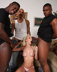Jada Stevens SixBang Riding Big Black Dick