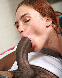 Interracial creampie biw