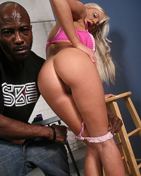 Jordan Pryce, Blacks on Blondes - Jordan Pryce, Wesley Pipes, streetwalker, BlacksOnBlondes.com, interracial, pornstars, hardcore