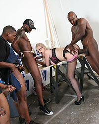 Katie Kox Black White Marriage
