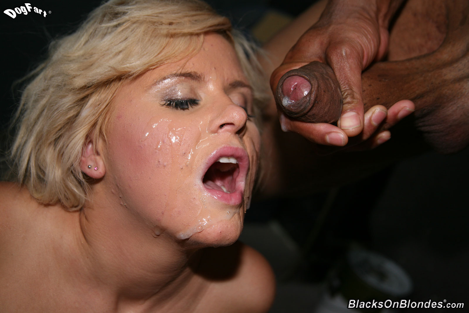 Bloneds And Black Cock