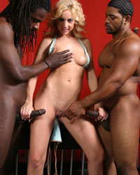 Kelly Wells 2's Second Appearance Taking Black Cock