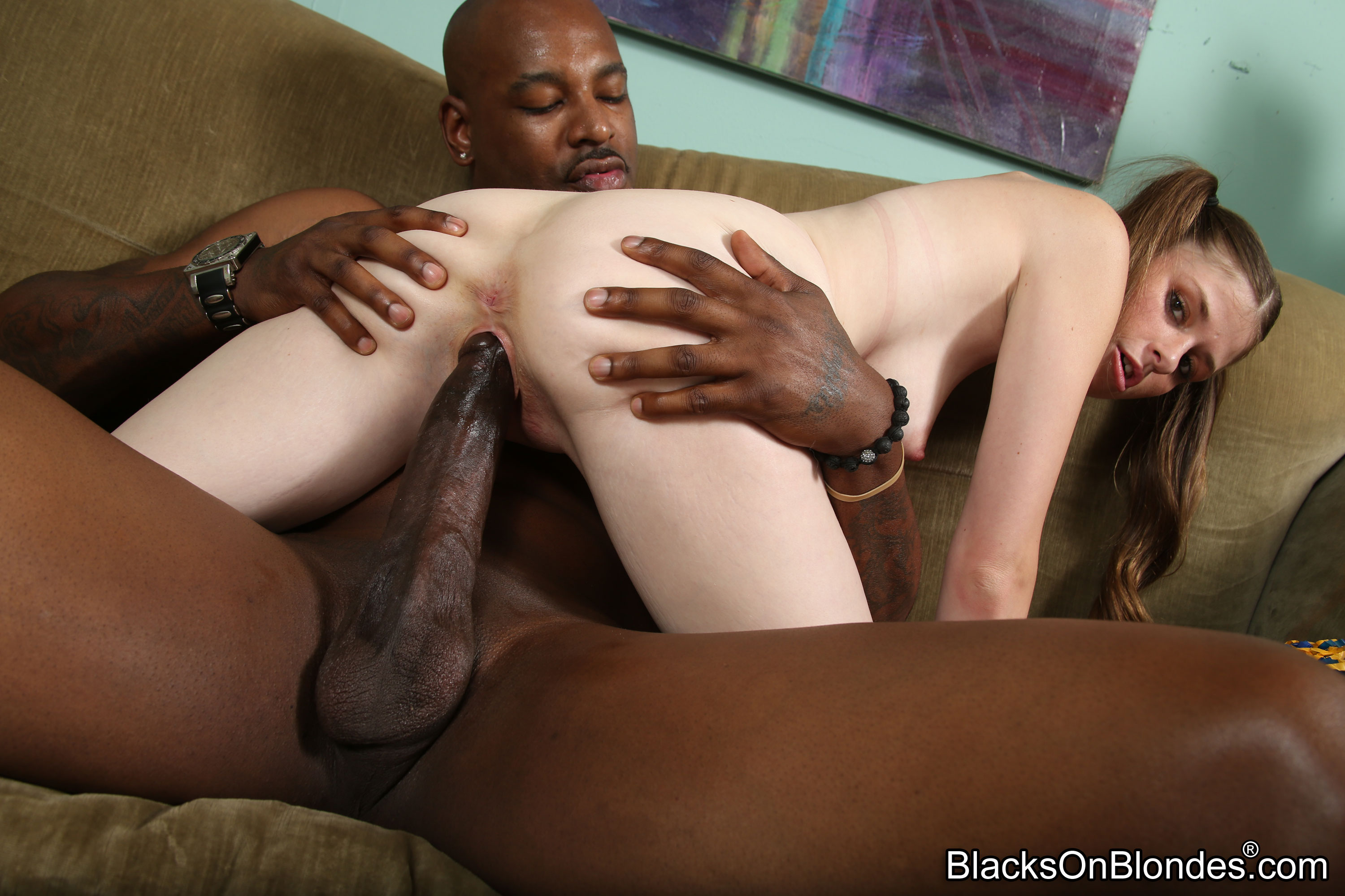 blonds and black cocks