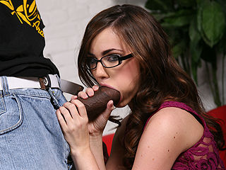 Black Sucking Dick Lily Carter