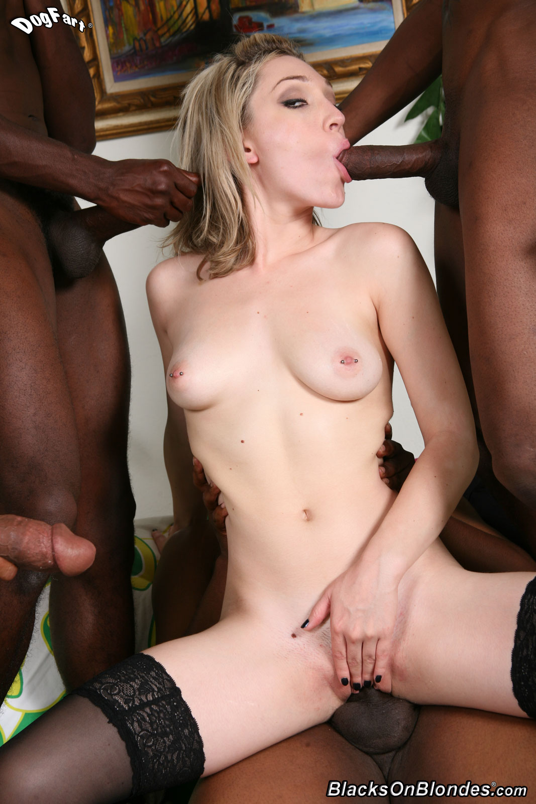 What necessary Blacks on blondes lily labeau are