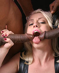 Lorelei Lee - Pornstar Lorelei interracial gangbang & cumeating