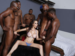 Simply remarkable Mckenzie lee interracial gangbang that necessary
