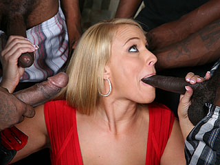 Mellanie Monroe Dogfart Black Cock Interracial