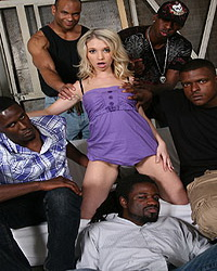 Claire Dames Blacks On Blondes Mina Gangbang